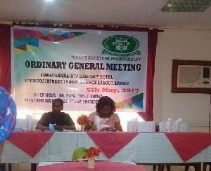 NSP holds OGM & Induction of new members in Enugu